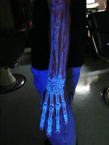 Why do it black light tattoos for Uv ink tattoos
