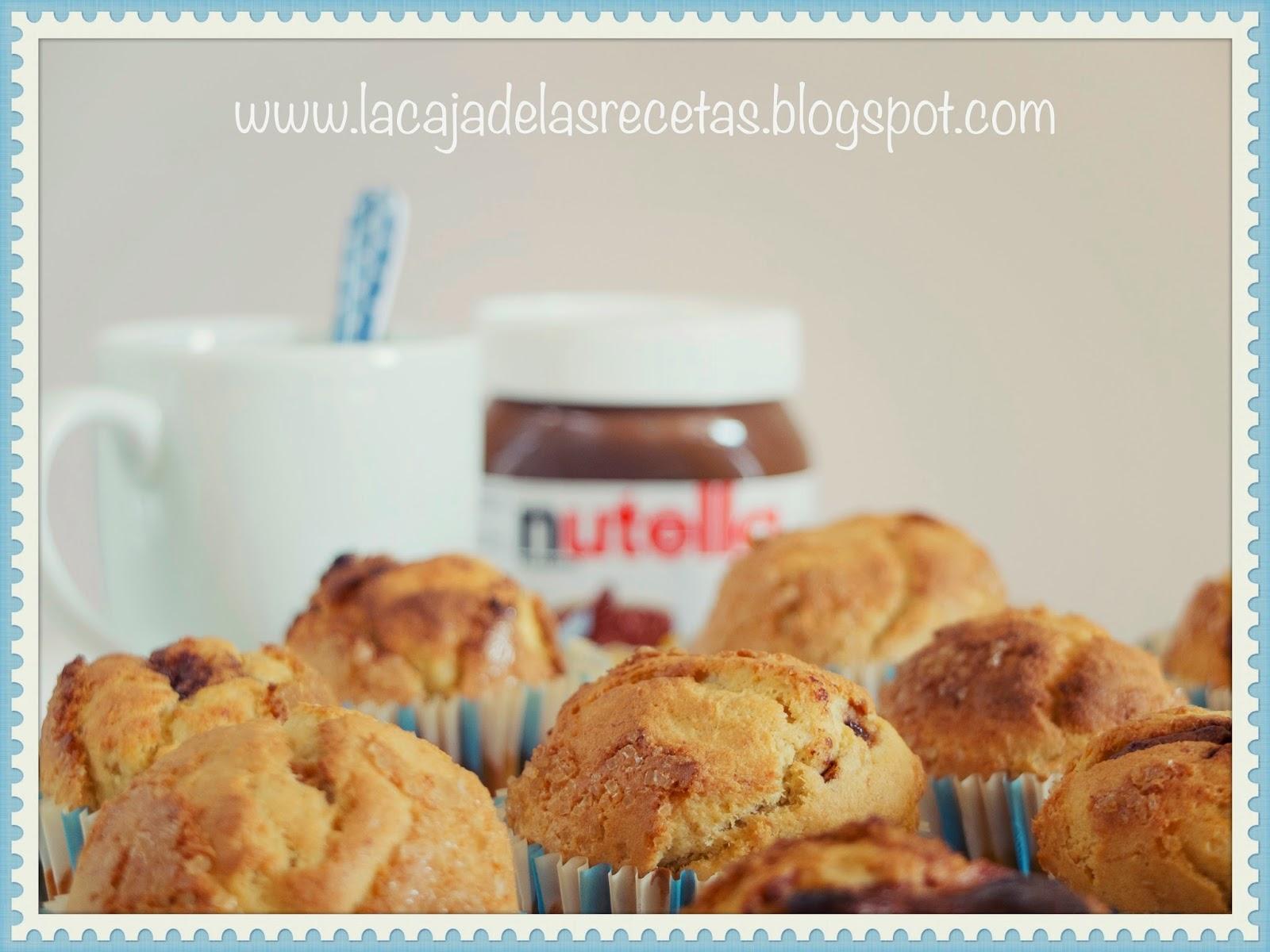 Muffins de Pl�tano (de Canarias!) y Nutella