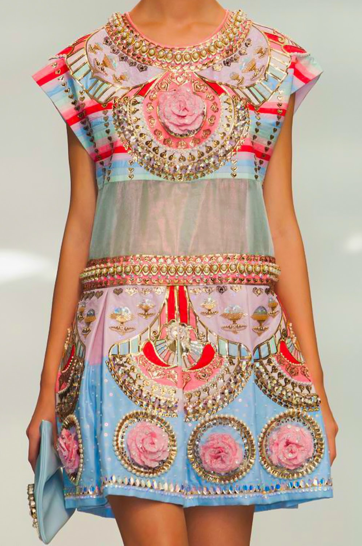 Manish Arora SS15 details 17