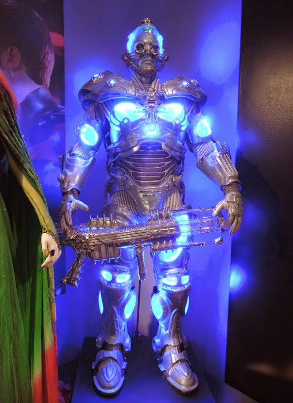 Arnold Schwarzenegger Mr. Freeze Batman and Robin movie costume