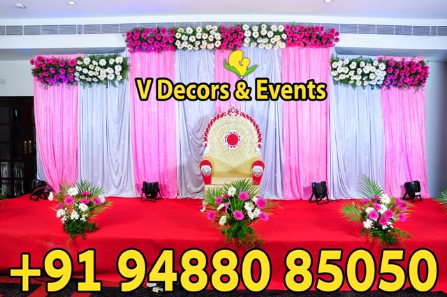 V Decors And Events Wedding Hall Decorations Marriage Decorations