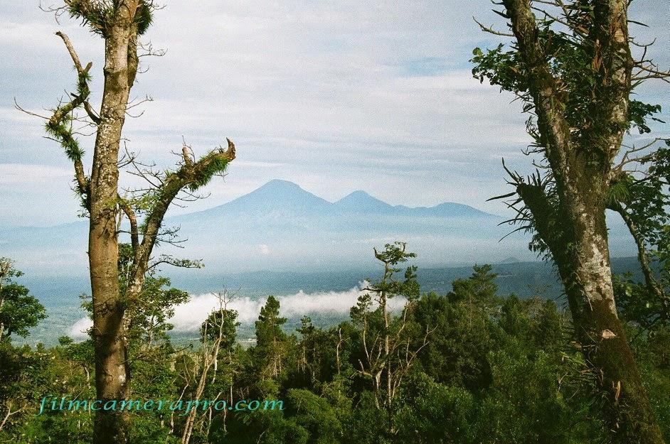 Sumbing Volcano