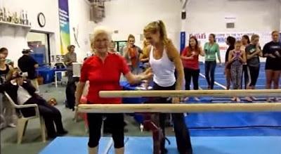 Η γηραιότερη γυμνάστρια στον κόσμο θα σας εμπνεύσει