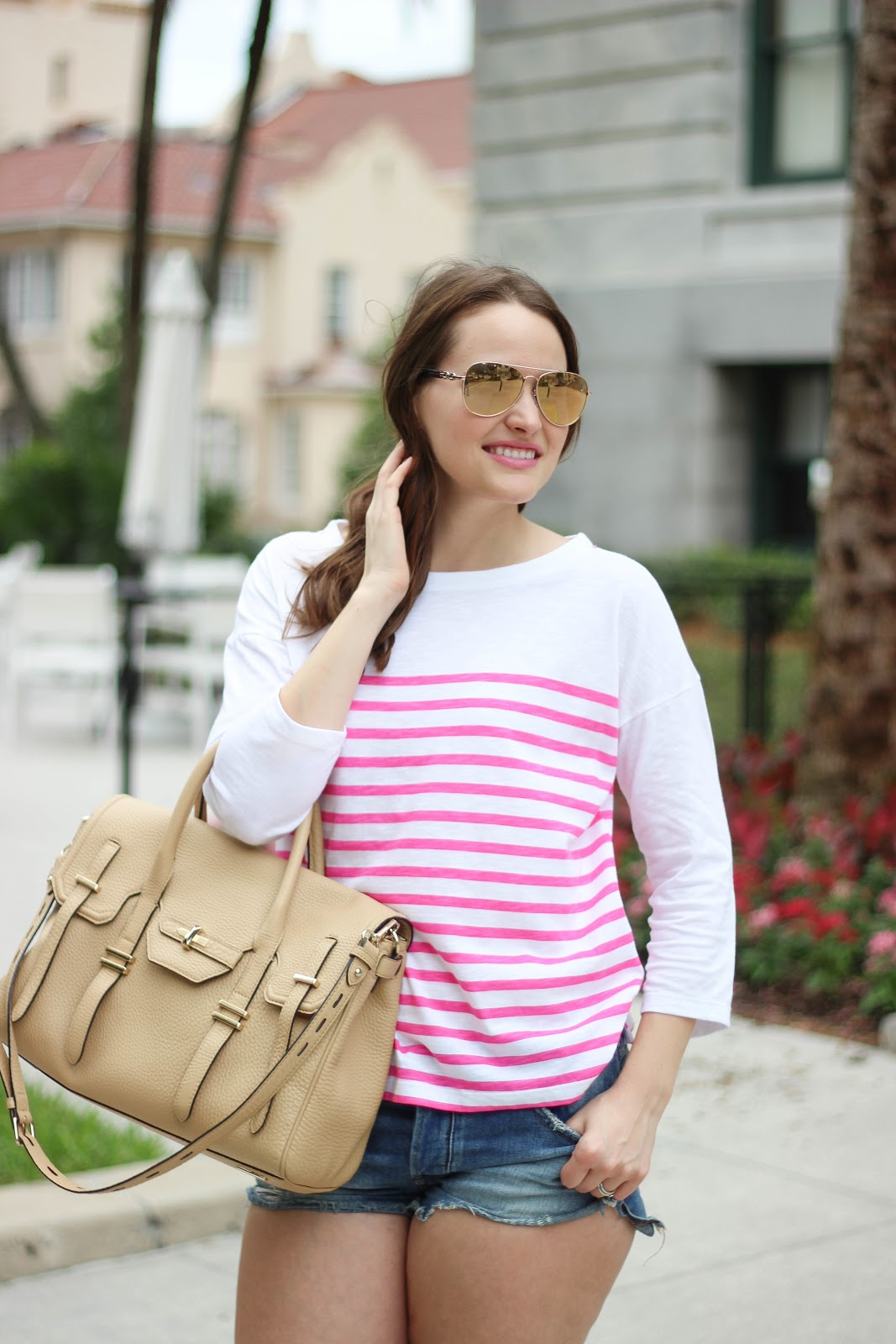 Pink Stripes Kelly Elizabeth Style
