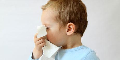 Resfriado em bebés de até um ano