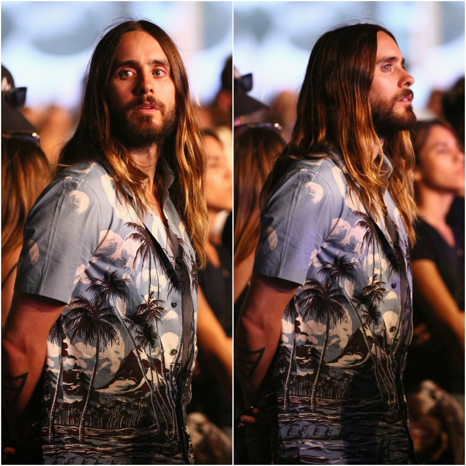 Jared Leto in Prada - Coachella 2014