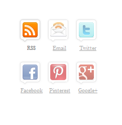 Awesome Subscriber Icons Widget For Blogger