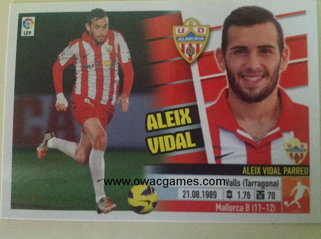 Liga ESTE 2013-14 Almeria 13 - Aleix Vidal