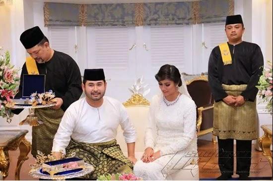 Gambar Sekitar Majlis Pernikahan TMJ Cik Khaleeda