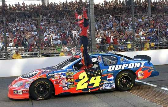 jeff gordon foto. jeff gordon car 2009