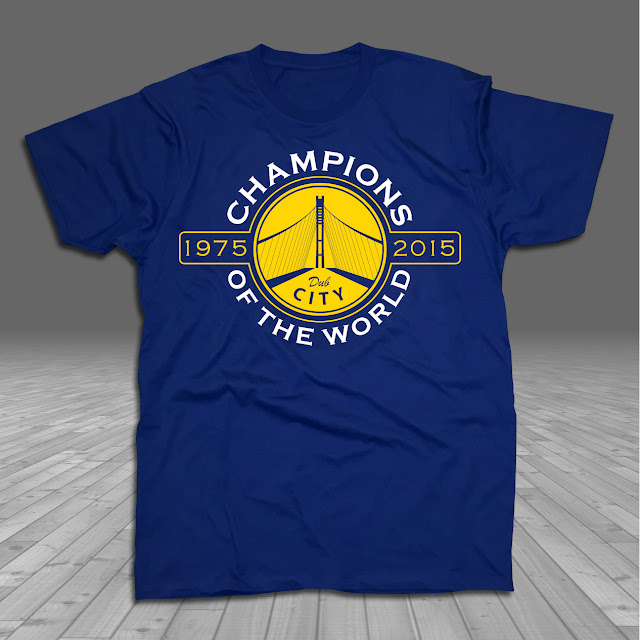 Dub City Warriors 2015 NBA Champions Made in Golden State