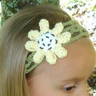 Crochet Baby Headband with Flower Crochet Geek - YouTube