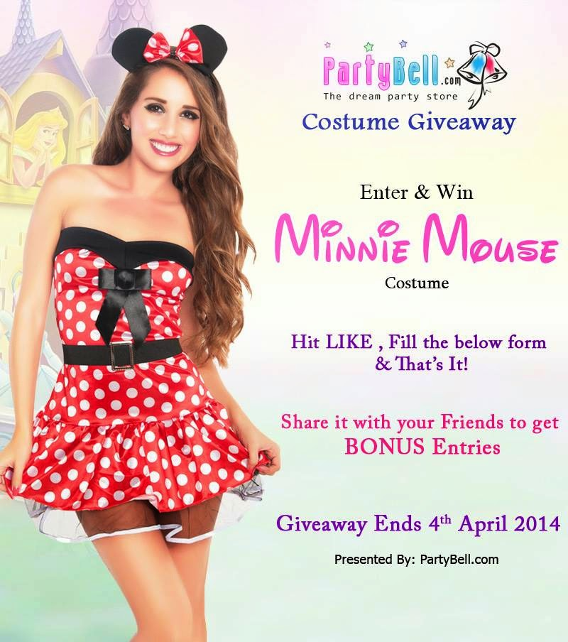 Minnie Mouse Costume Giveaway worth $60