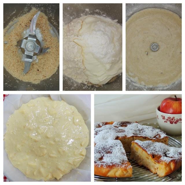 torta di mele bimby light