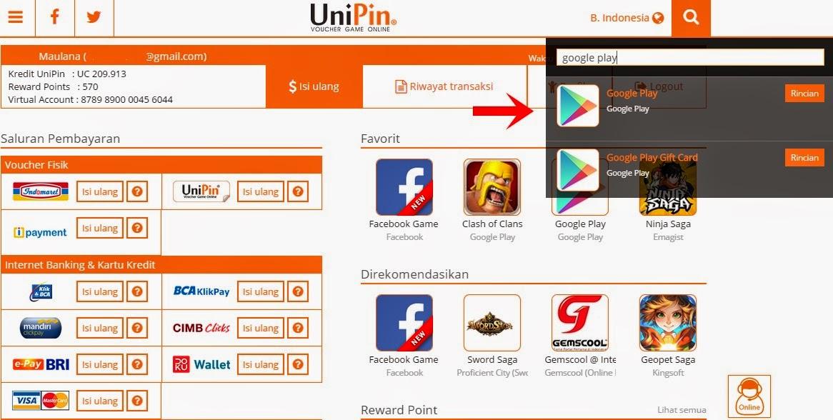 Hasil gambar untuk Why can Buy Google Play Gift Card in UniPin
