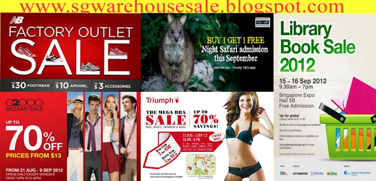 SG Warehouse Sales!
