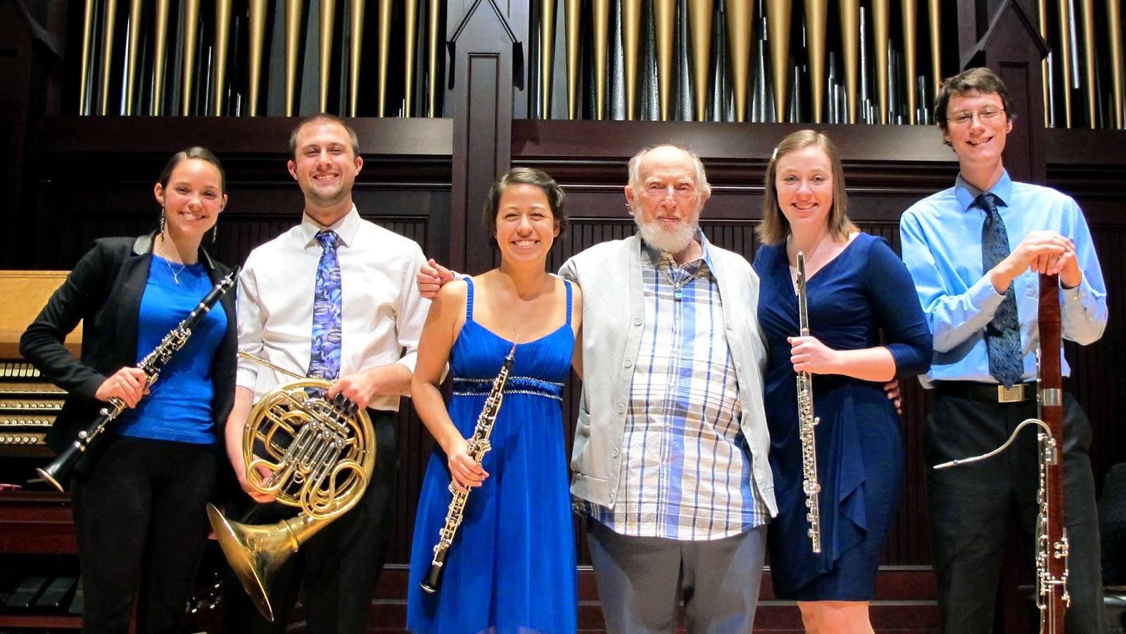 Fred Fox Graduate Wind Quintet