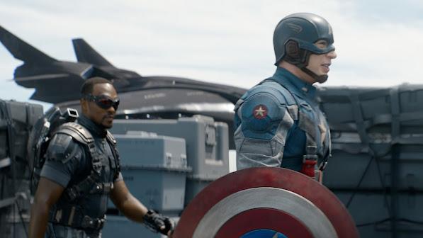 Captain America The Falcon
