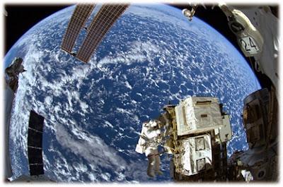La Terra, des de l'espai - Font: NASA/ESA/Alexander Gerst