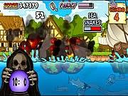 Cá mập trung cổ, game van phong