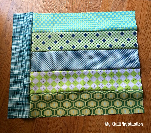 Fort Worth Fabric Studio Oh Sew Baby Strip Tango Baby Quilt Tutorial