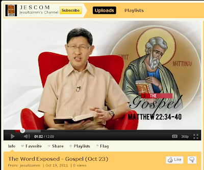 ... that Archbishop Tagle is one of the world's most active bishops online.