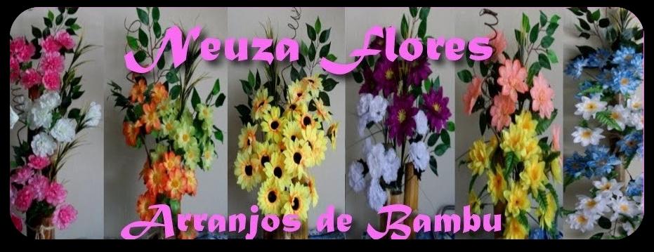 Neuza Flores Arranjos de Bambu