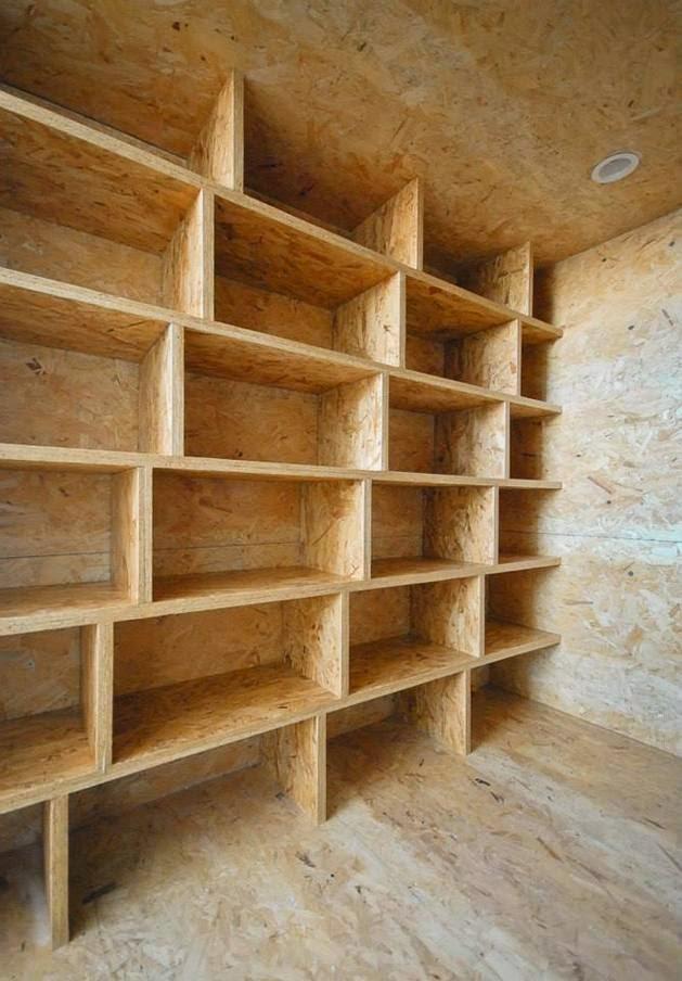 dinding yang dibentuk dengan cara yang sangat unik dan kreatif Rancangan Desain Rak Dinding Kreatif dan Unik