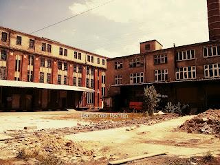 Usine abandonnée Berlin