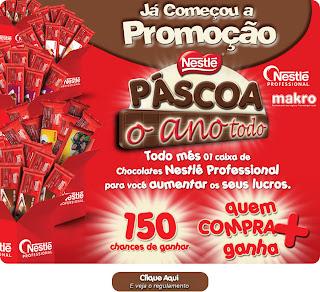 """Promoção """"Páscoa o Ano Todo Nestlé Professional"""""""