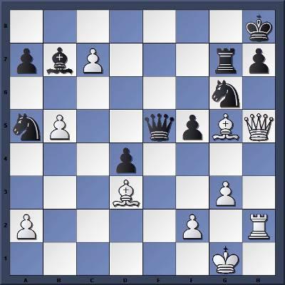 Les Noirs jouent et perdent en 2 coups