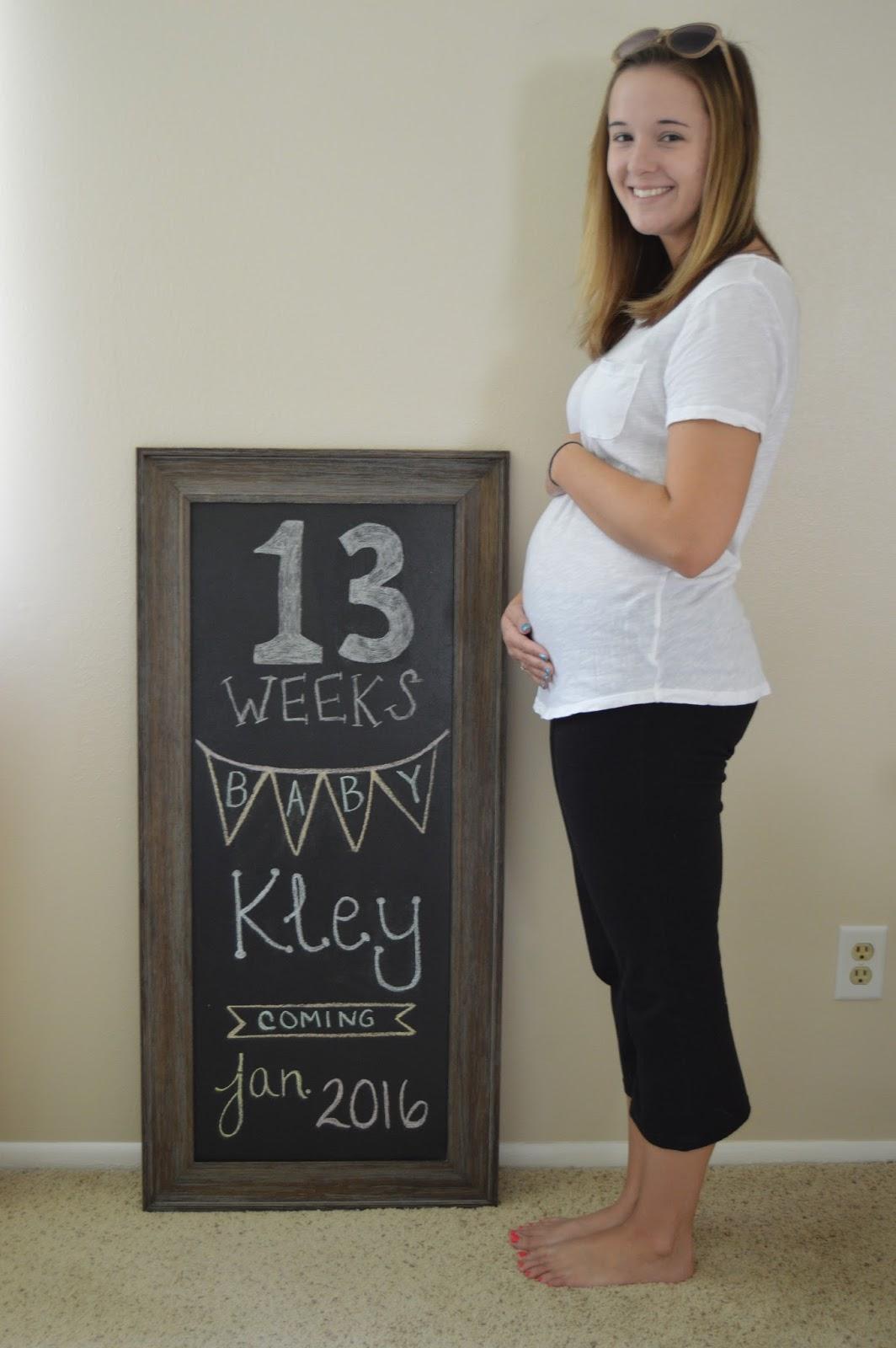 Beautiful Thing Baby Bump 13 Weeks