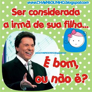 Recadinho de Humor com Sílvio Santos para Facebook