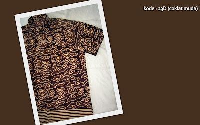 Baju Batik Pria 23D