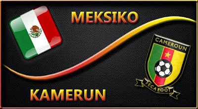 Meksiko vs Kamerun Piala Dunia 2014