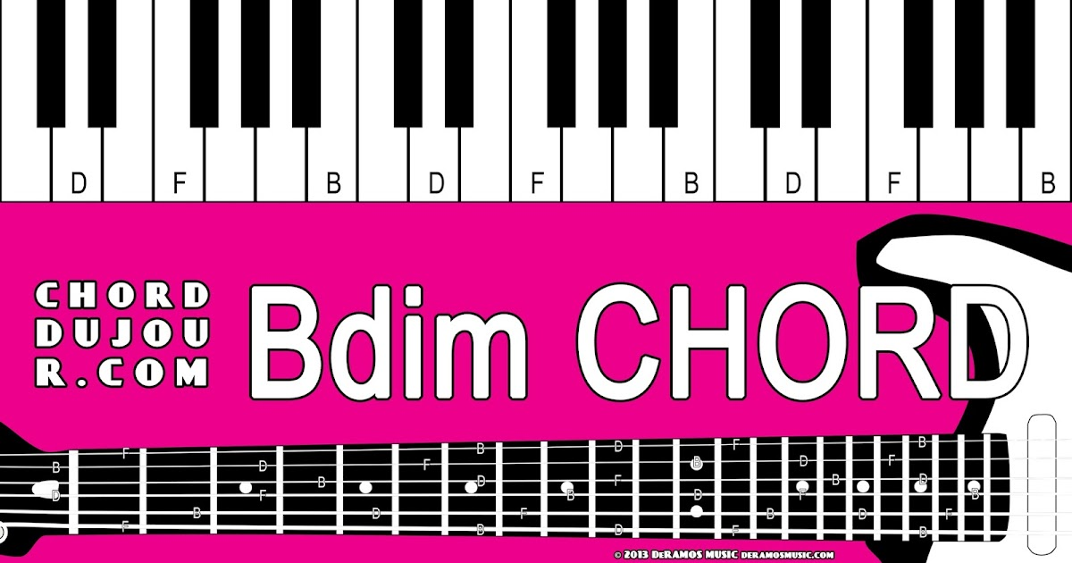 Chord Du Jour Dictionary Bdim Chord