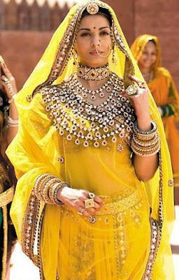 Aishwarya Rai Jodha Akbar Jewellery