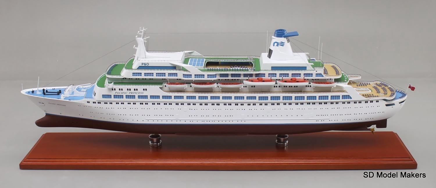 Captain Stubing Would Love This Love Boat Replica Model SD - Love boat cruise ship