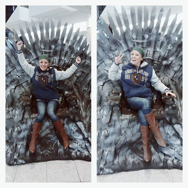 Iron Throne Game of Thrones Trono de Ferro Luciana De La Vega