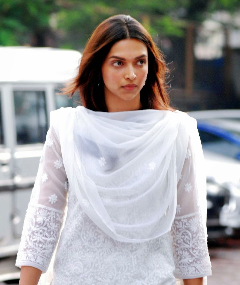 Beautiful Deepika Padukone in White Dress - Deepika ...