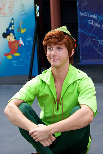 Gay peter pan
