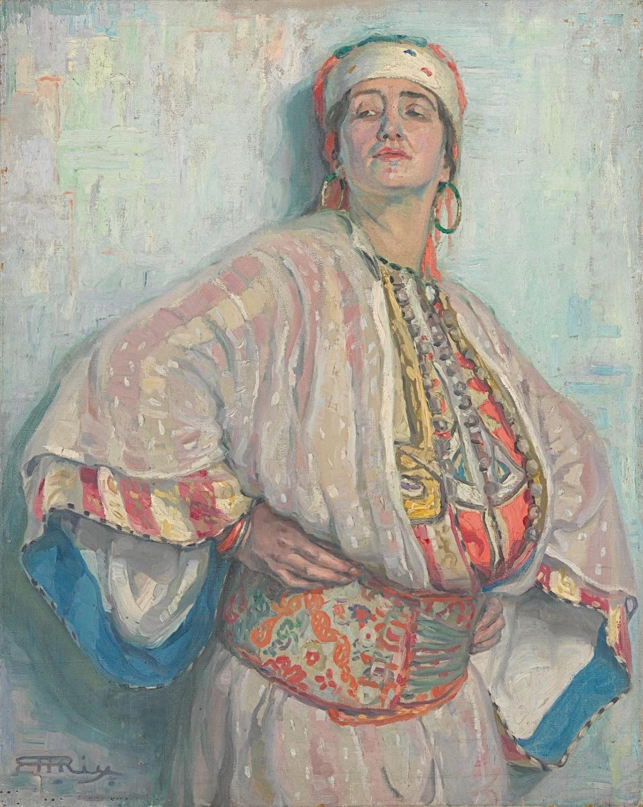 Hilda Rix Nicholas Defiance National Gallery of Australia