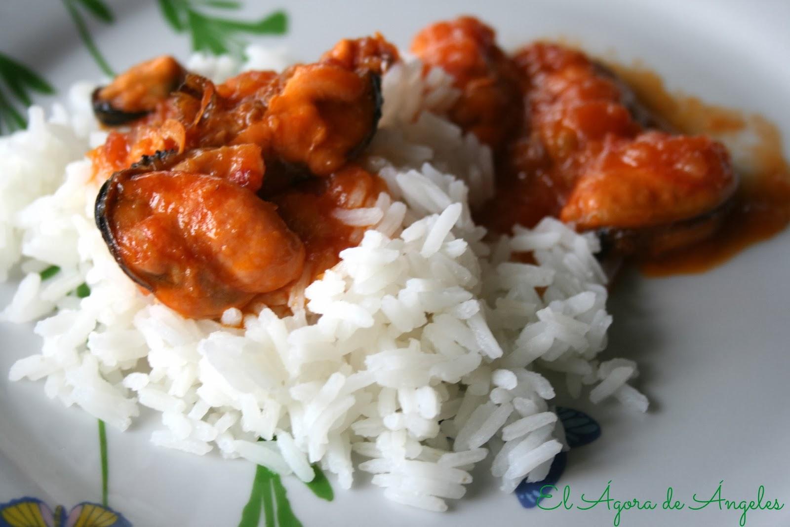5 recetas de mejillones cocinar en casa es for Cocinar mejillones en salsa