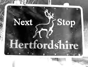 My next tour will be in a rural part of Hertfordshire