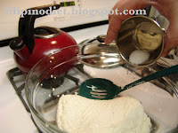 Mozzarella cheese from scratch
