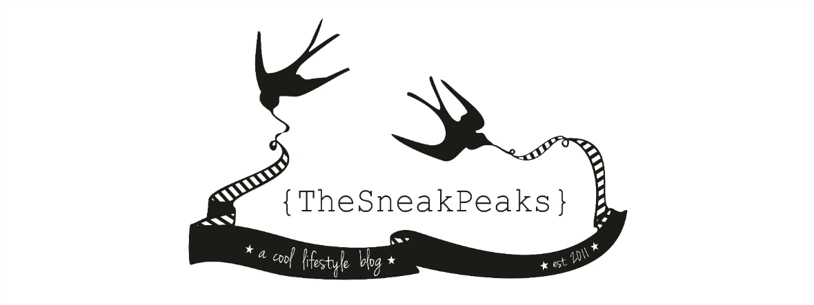 { TheSneakPeaks } - a cool lifestyle blog