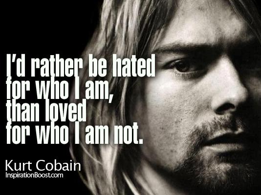 Kurt Cobain quotes   The pictorial quotes