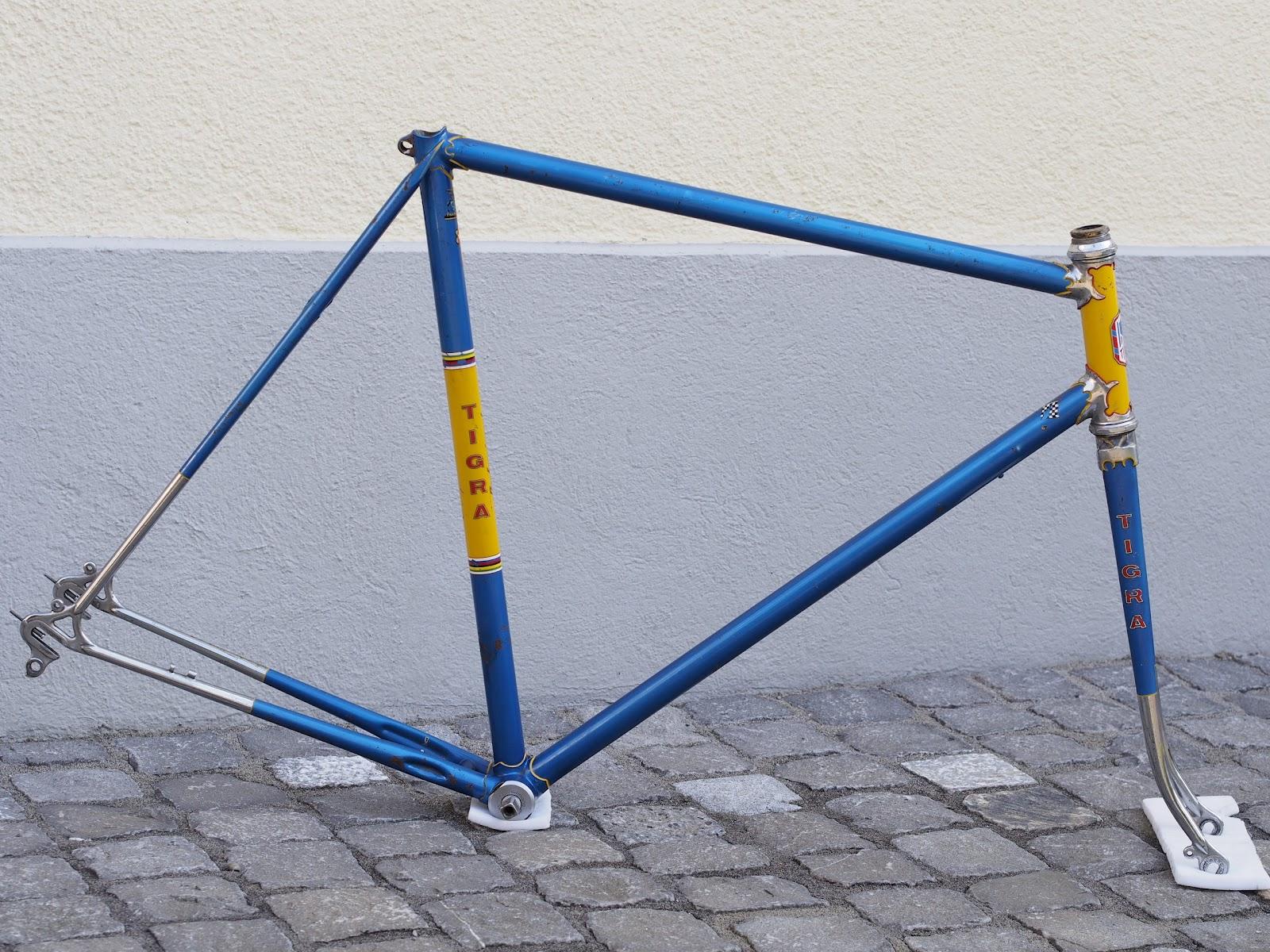Zugzwang: Tour de France? 60s / 70s Tigra Professionnel-Rahmen mit ...