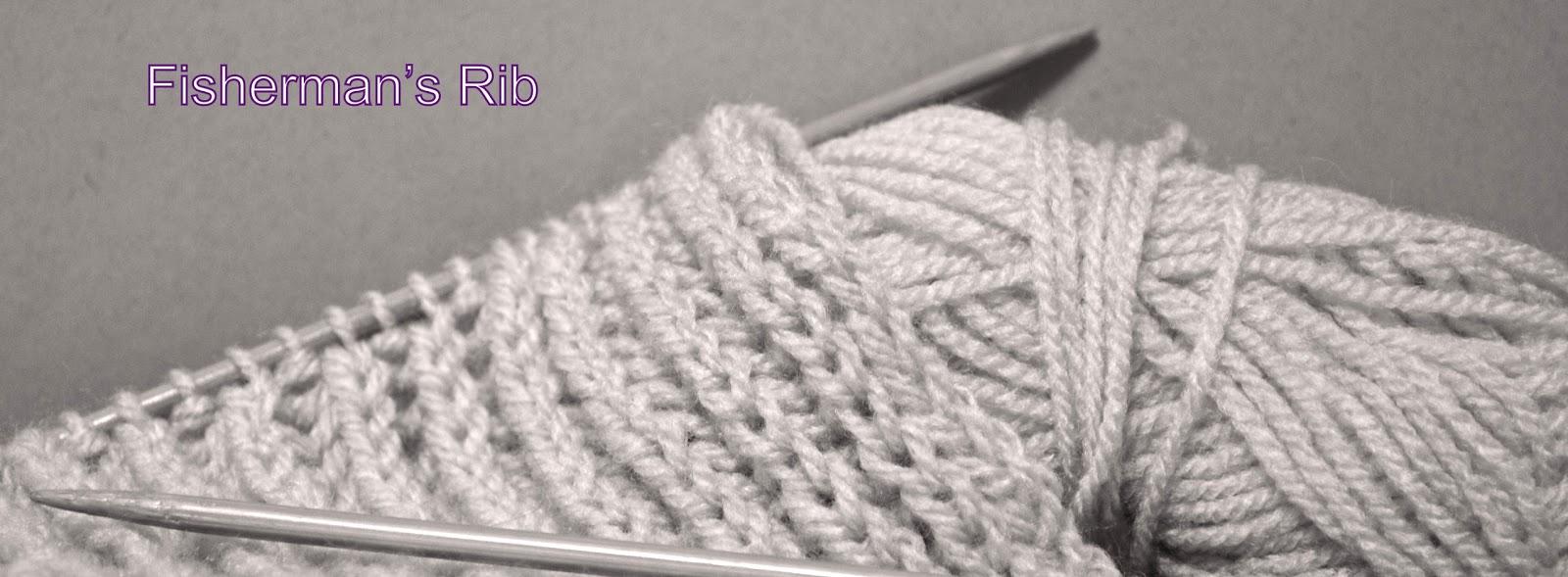 Knitting Stitches Fisherman s Rib : Knitting Novice: The Weekly Swatch: Fishermans Rib Stitch
