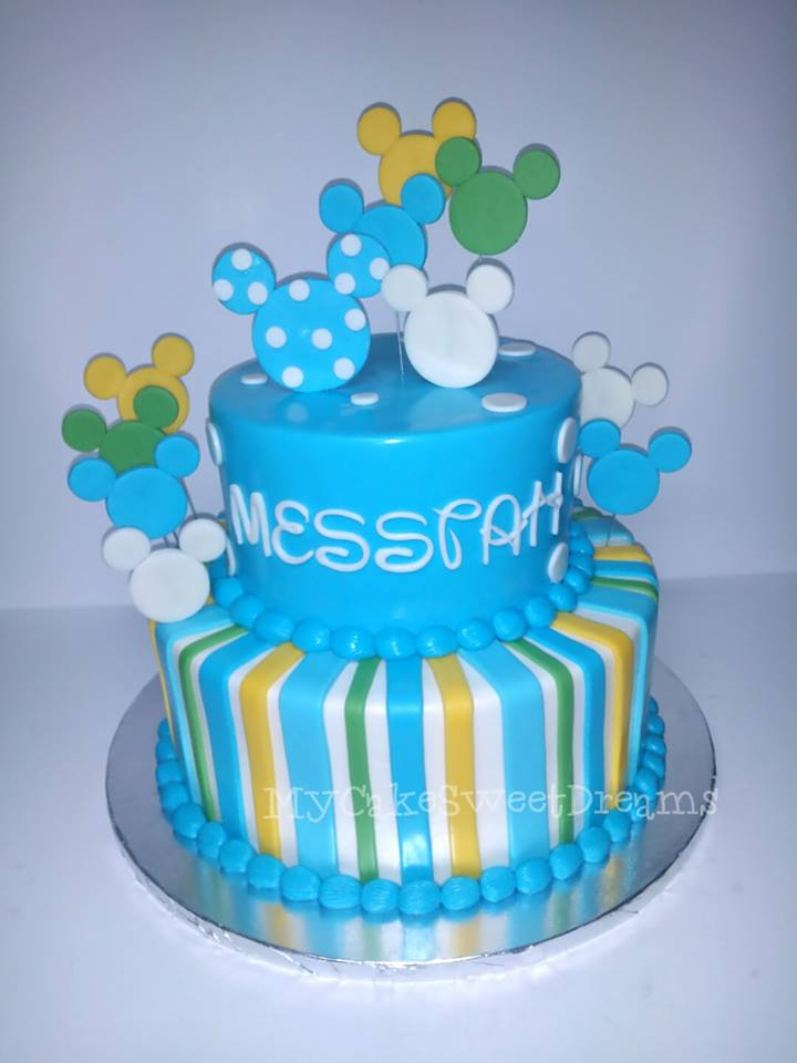 my cake sweet dreams mickey mouse baby shower cake